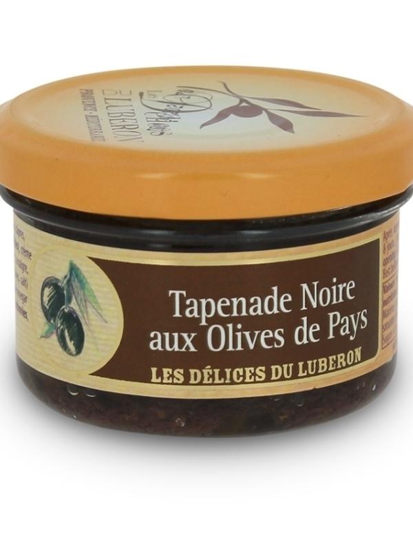 Tapenade noire aux olives du pays