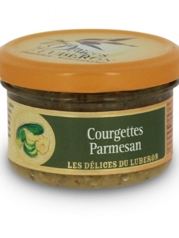 Délice de courgettes au Parmesan