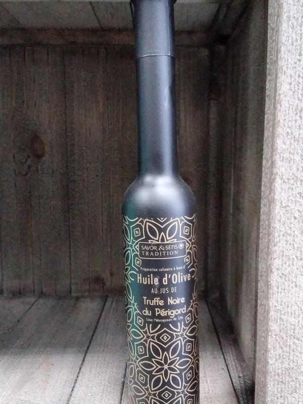Huile d'olive au jus de Truffe noire du Périgord 20cl