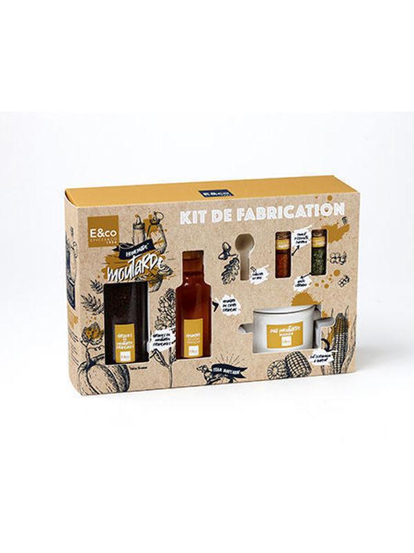 """Kit de fabrication """"Ma moutarde maison"""""""