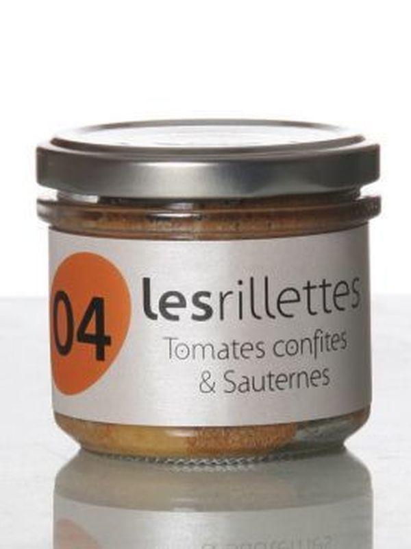 Les rillettes tomates confites & Sauternes 90g