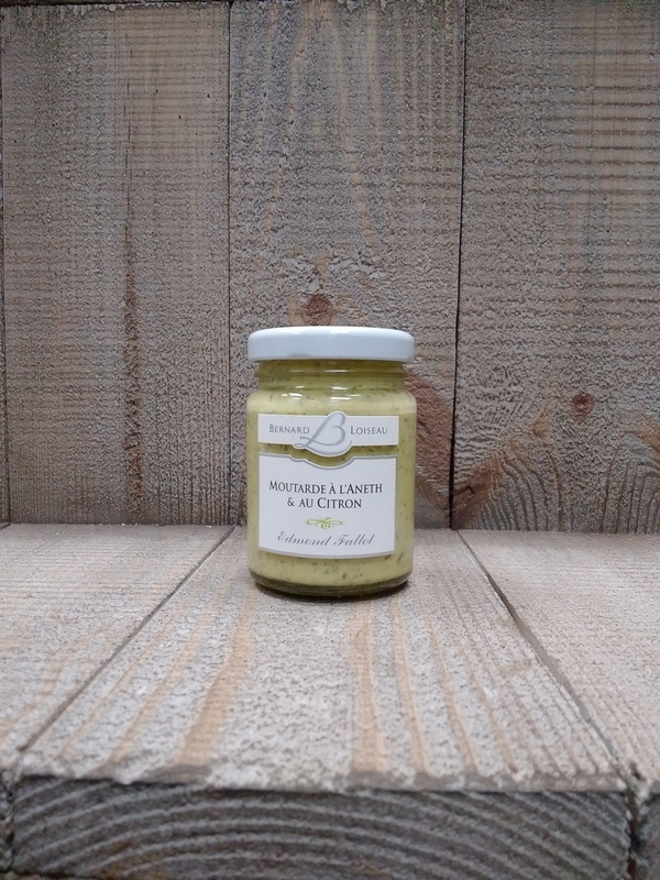Moutarde à l'aneth & au citron 100g