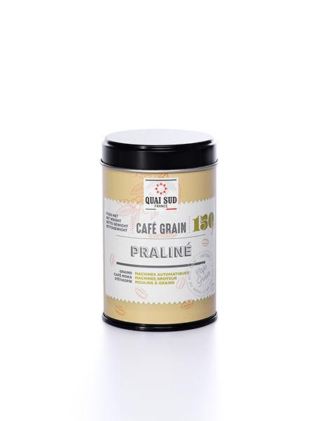 GRAINS DE CAFÉ AROMATISÉ PRALINÉ 200G