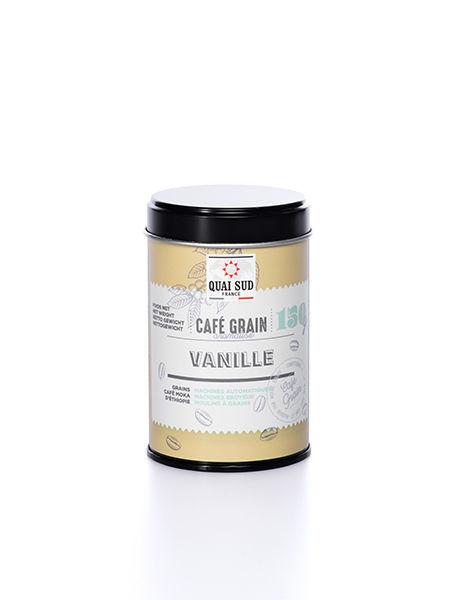 GRAINS DE CAFÉ AROMATISÉ VANILLE 200G