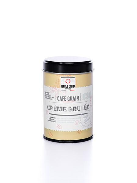 GRAINS DE CAFÉ AROMATISÉ CRÈME BRULÉE 200G