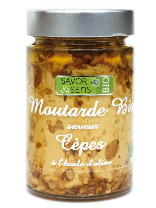 Moutarde saveur cèpes