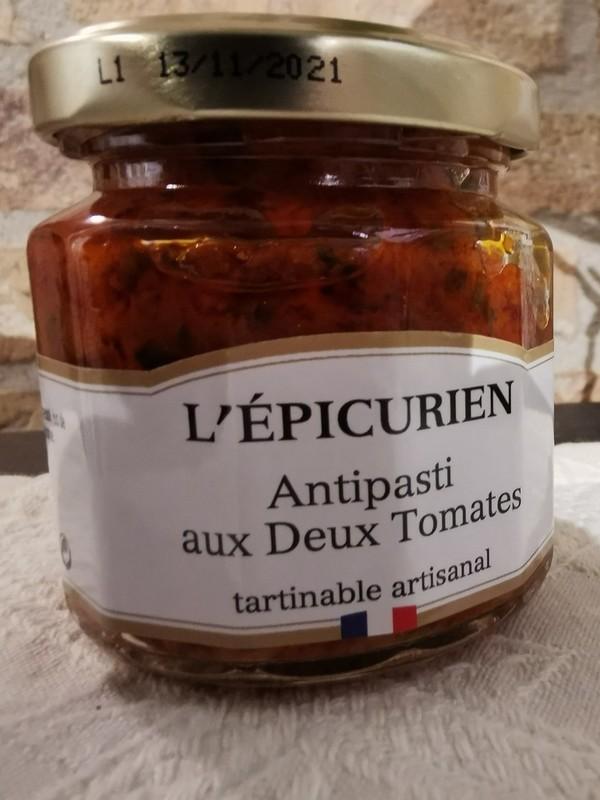 Antipasti aux Deux Tomates