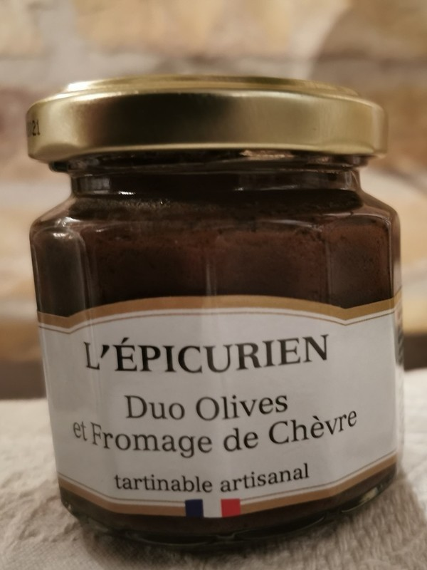 Duo Olives et Fromage de Chèvre