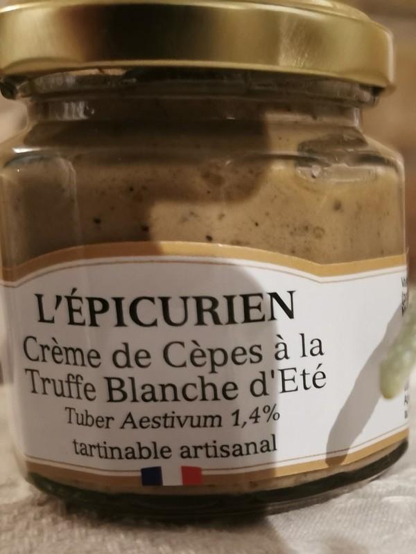 Crème de Cèpes à la Truffe Blanche d'Eté