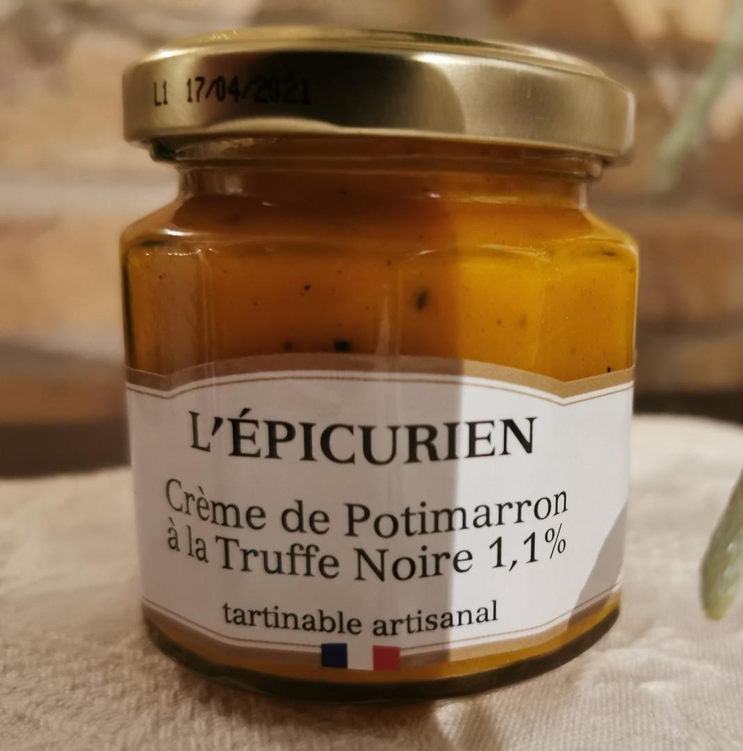 Crème de Potimarron à la Truffe Noire 1,1%