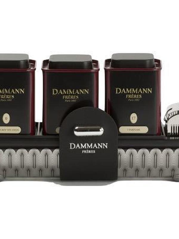 COFFRET thé - Comédie - 3 boîtes de 30g + infuseur - Dammann Frères